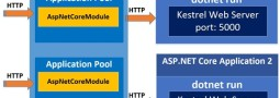 ASP.NET Core Application, Kestrel Web Server & IIS