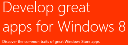 A short story how to publish Windows Store App