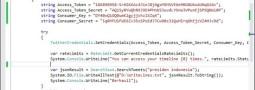 Import output JSON dari Twitter ke MongoDB